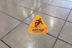 OFFERS General: Non-Slip Floor treatment