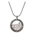 OFFERS General: The Josephine Herkimer Diamond Green Crystal Locket